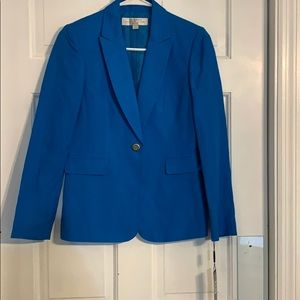 Beautiful blue suit jacket